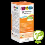Pédiakid 22 Vitamines Et Oligo-eléments Sirop Abricot Orange 250ml à TOULOUSE