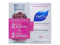 PHYTOPHANERE FORCE CROISSANCE VOLUME COMPLEMENT ALIMENTAIRE PHYTO 120 CAPSULES X 2 à TOULOUSE