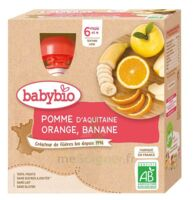 BABYBIO Gourde Pomme Orange Banane à TOULOUSE