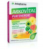 Arkovital Pur'Energie Multivitamines Comprimés dès 6 ans B/30 à TOULOUSE