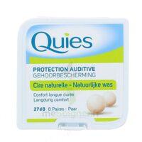 QUIES PROTECTION AUDITIVE CIRE NATURELLE 8 PAIRES à TOULOUSE