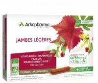 Arkofluide Bio Ultraextract Solution buvable jambes légères 20 Ampoules/10ml à TOULOUSE