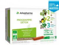 Arkofluide Bio Ultraextract Coffret programme détox 3x10 Ampoules/10ml à TOULOUSE