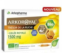Arkoroyal Gelée Royale Bio Sans Sucre 1500mg Solution Buvable 20 Ampoules/10ml à TOULOUSE