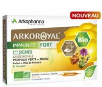 Arkoroyal Immunité Fort Solution Buvable 20 Ampoules/10ml à TOULOUSE