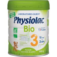 Physiolac Bio Lait 3éme Age 800g à TOULOUSE