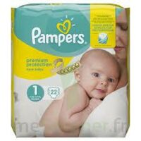 PAMPERS NEW BABY PREMIUM PROTECTION, taille 1, 2 kg à 5 kg, sac 22 à TOULOUSE