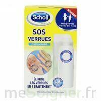 Scholl SOS Verrues traitement pieds et mains à TOULOUSE