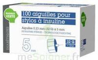 Soludiab Aiguilles Stylos Insuline 5mm Fines 31g – Bt100 à TOULOUSE