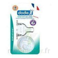 DODIE SENSATION+ Tétine plate débit 2 silicone 0-6mois à TOULOUSE