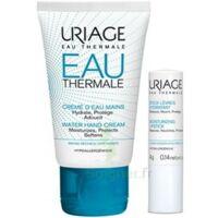 Uriage Eau Thermale Crème d'eau mains T/30ml+Stick lèvres à TOULOUSE