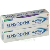Sensodyne Rapide Pâte Dentifrice Dents Sensibles 2*75ml à TOULOUSE