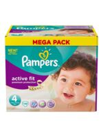 PAMPERS COUCHES ACTIVE FIT TAILLE 4 7-18 KG X 78 à TOULOUSE