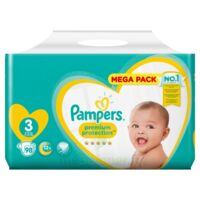 PAMPERS PREMIUM PROTECTION MEGA PACK 6-10kg à TOULOUSE
