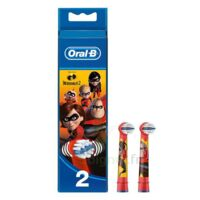 Oral B Incredibles 2 Brossette Kids Blister/2 à TOULOUSE