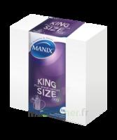 Manix King Size Préservatif Avec Réservoir Lubrifié Confort B/144 à TOULOUSE