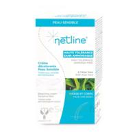 Netline Crème visage/corps décolorante peau sensible 30+30ml à TOULOUSE