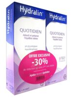 Hydralin Quotidien Gel lavant usage intime 2*400ml à TOULOUSE