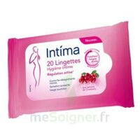 Intima Gyn'Expert Lingettes Cranberry Paquet/20