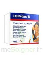 LEUKOTAPE K Sparadrap noir 5cmx5m à TOULOUSE