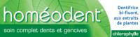 Boiron Homéodent Soin Complet Dents et Gencives Pâte Dentifrice Chlorophylle 2T/75ml à TOULOUSE