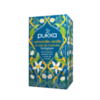 Pukka Bio Camomille, Vanille Et Miel De Manuka Tisane Relax 20 Sachets à TOULOUSE