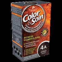 COLOR&SOIN Kit coloration permanente 4A marron glacé à TOULOUSE