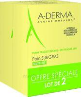 Aderma Les Indispensables Pain Surgras Duo 2x100g à TOULOUSE