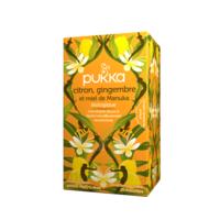Pukka Bio Citron, Gingembre Et Miel De Manuka Tisane Immunité Citron Gingembre Miel De Manuka 20 Sachets à TOULOUSE