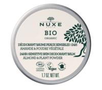 Nuxe Bio Déodorant Baume Fraîcheur 24h Peaux Sensibles Pot/50g à TOULOUSE