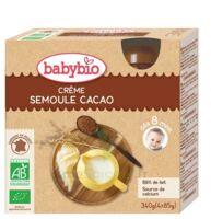 Babybio Gourde Crème Semoule Cacao à TOULOUSE