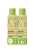 Aderma Exomega Control Huile Nettoyante Emolliente Duo 2x500ml à TOULOUSE